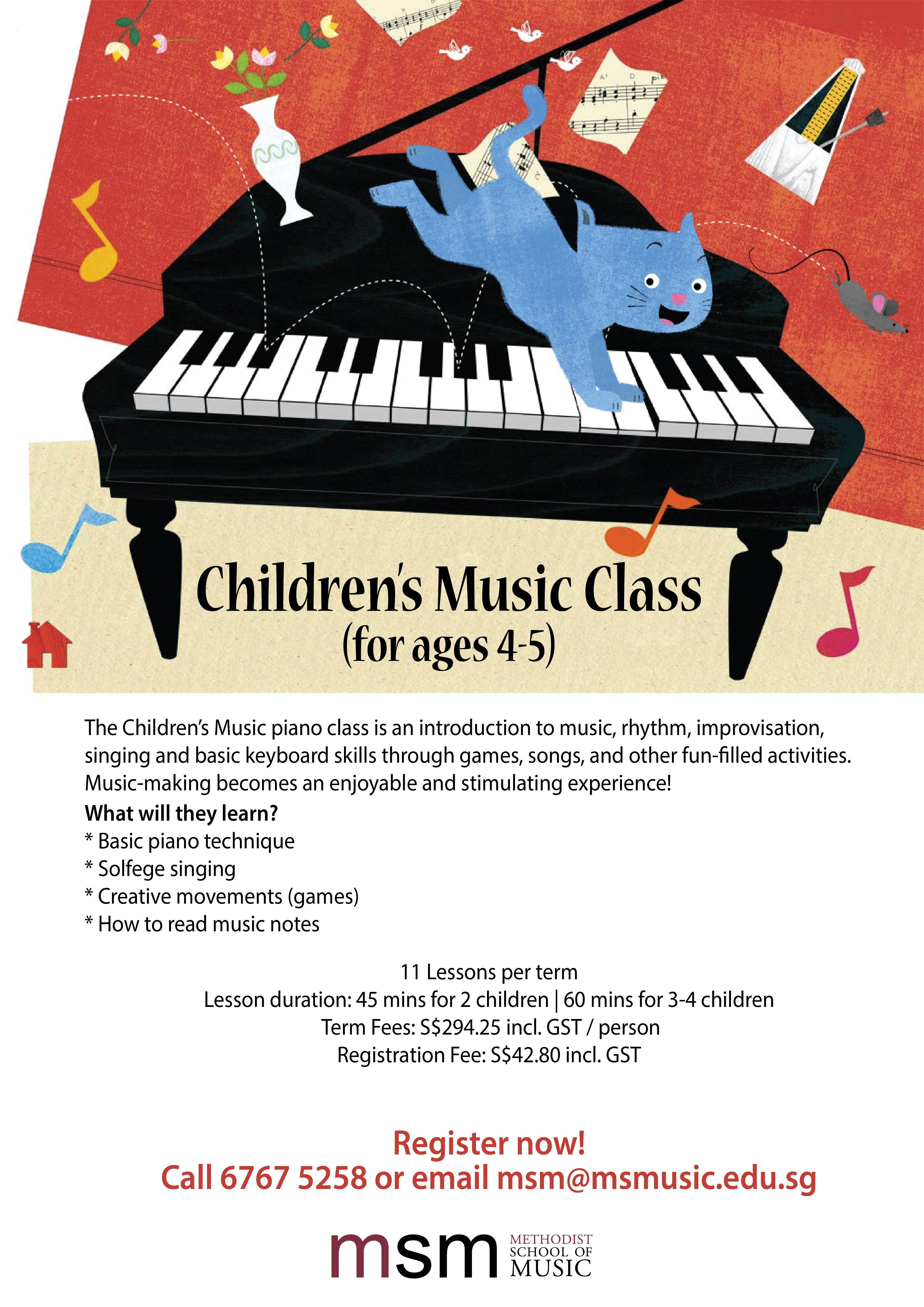 CHILDREN MUSIC CLASS