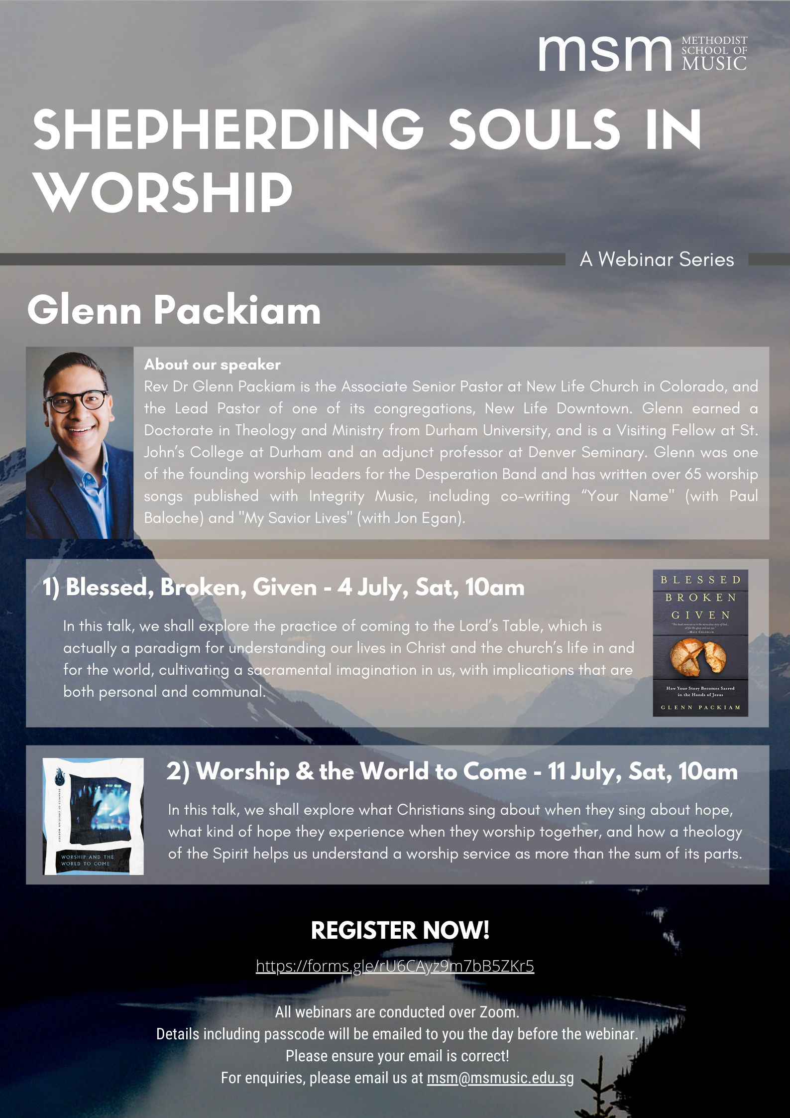 Shepherding Souls in Worship: Webinar Series