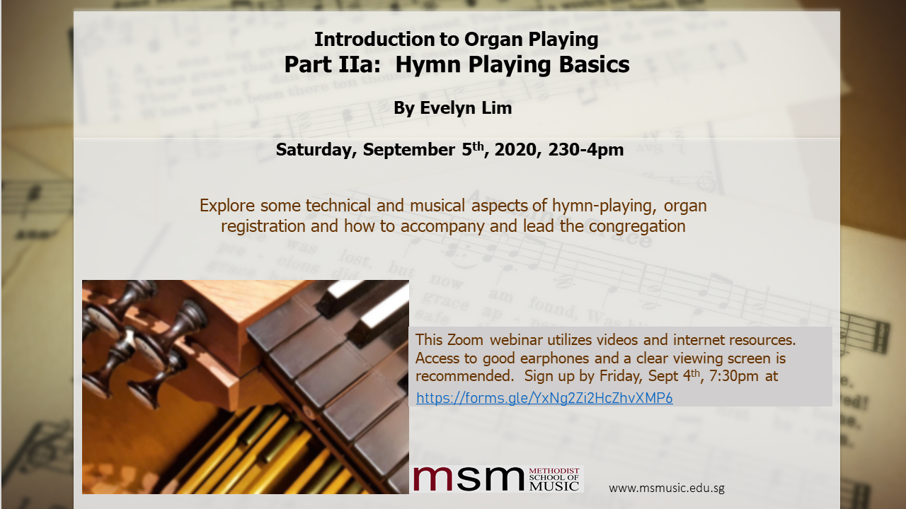 Introduction to Organ Playing – Part IIa