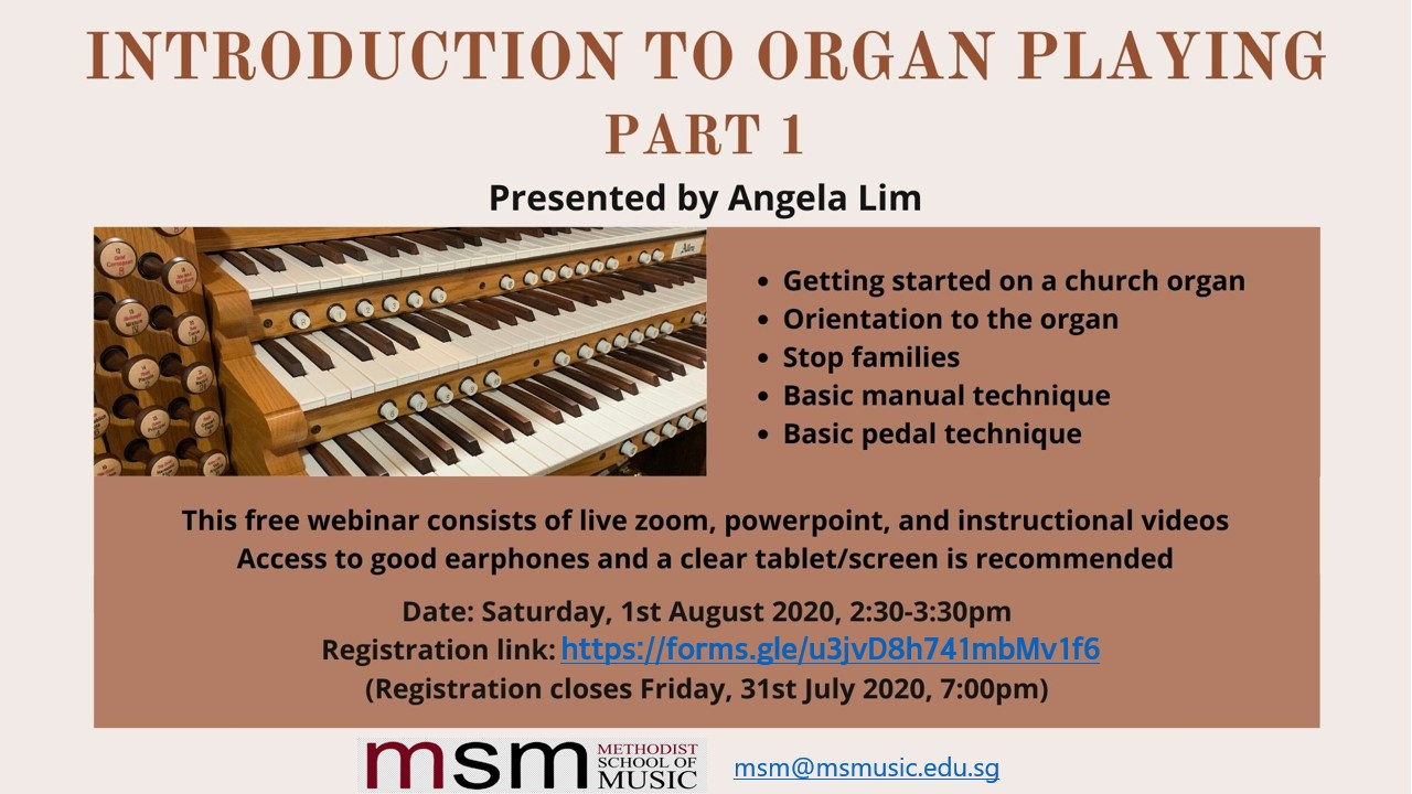 Introduction to Organ Playing - Part 1