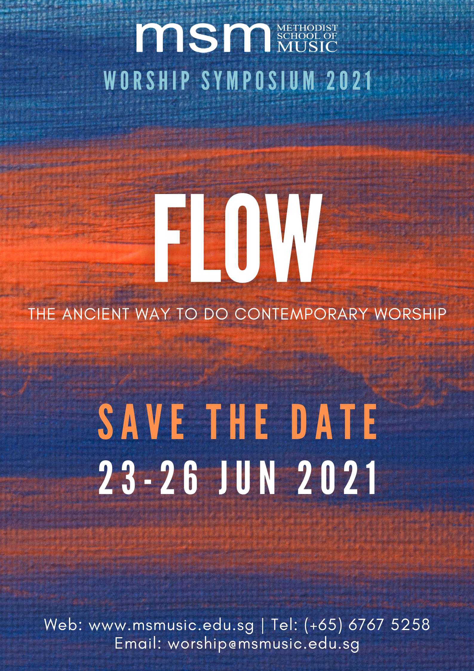 Worship Symposium 2021: Flow