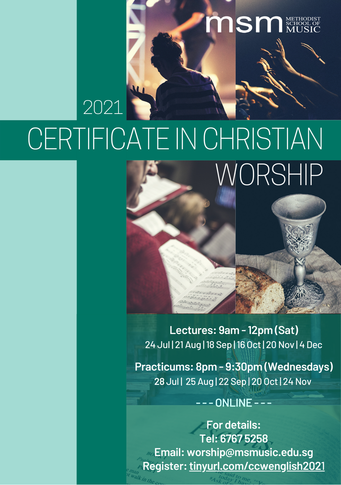 Certificate in Christian Worship (CCW) 2021