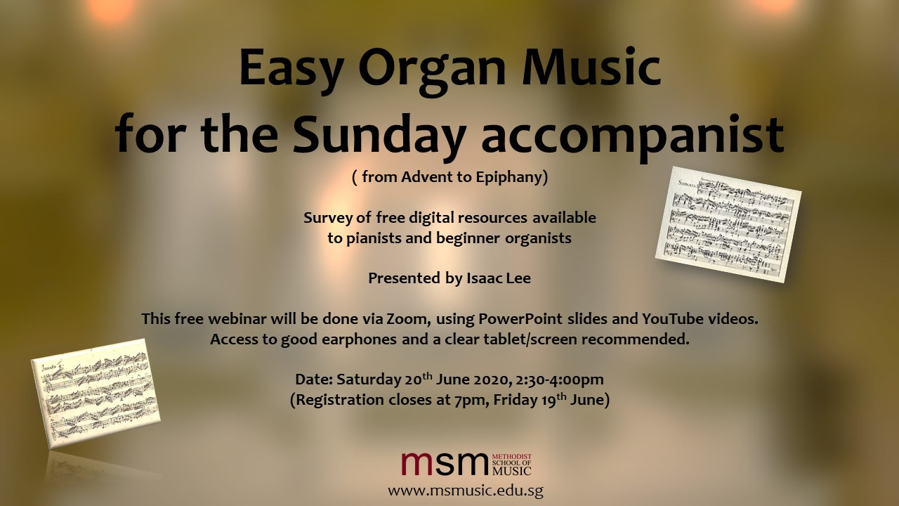 Easy Organ Music for the Sunday Accompanist