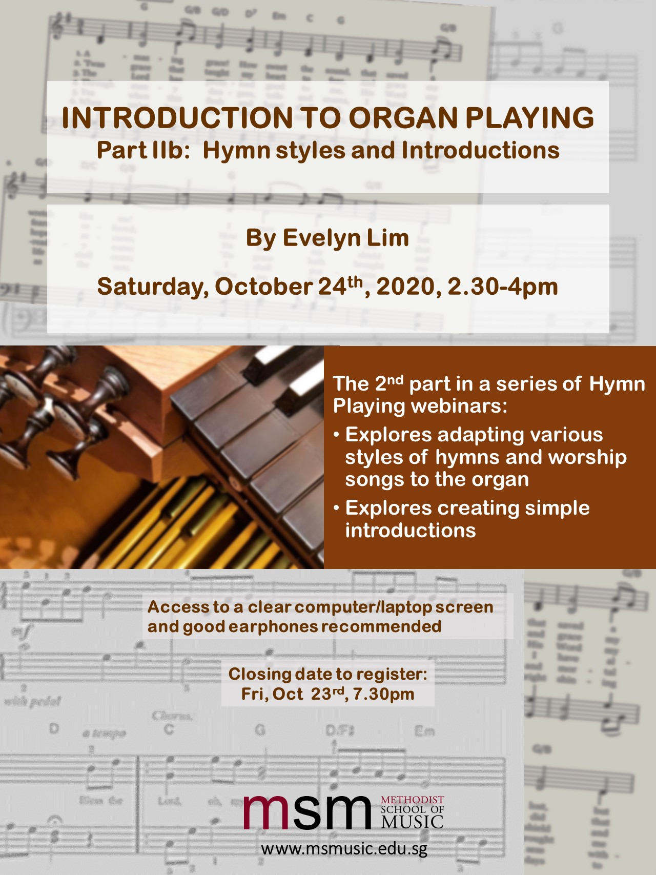 Introduction to Organ Playing – Part IIb