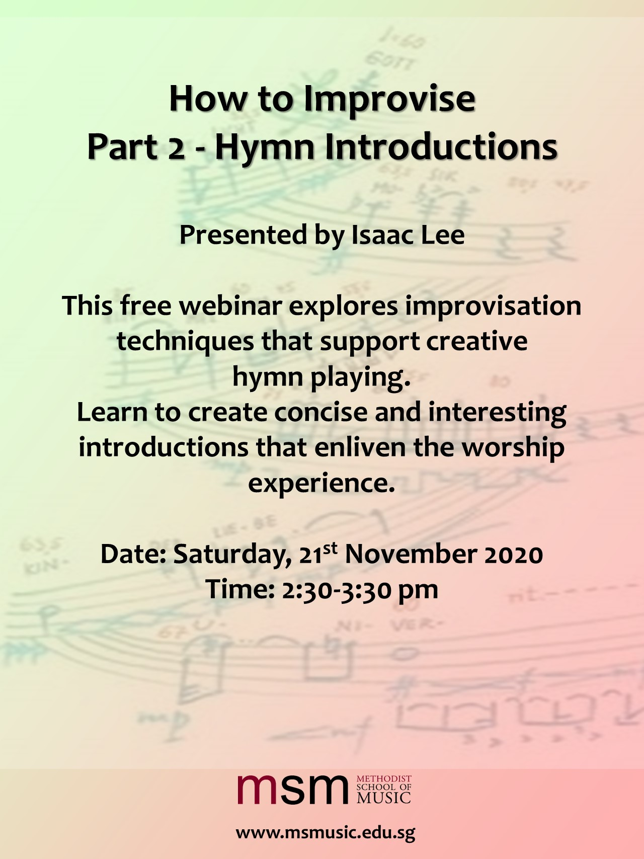 How to Improvise Part 2 – Hymn Introductions
